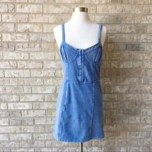 Intimately Free People Spaghetti Strap Dress Sz M
